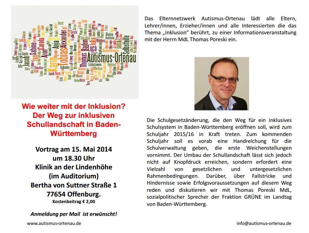 Einladung Vortrag Thomas Poreski